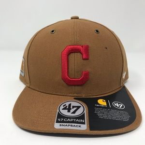 Carhartt '47 Brand Captain Snapback Hat Cleveland